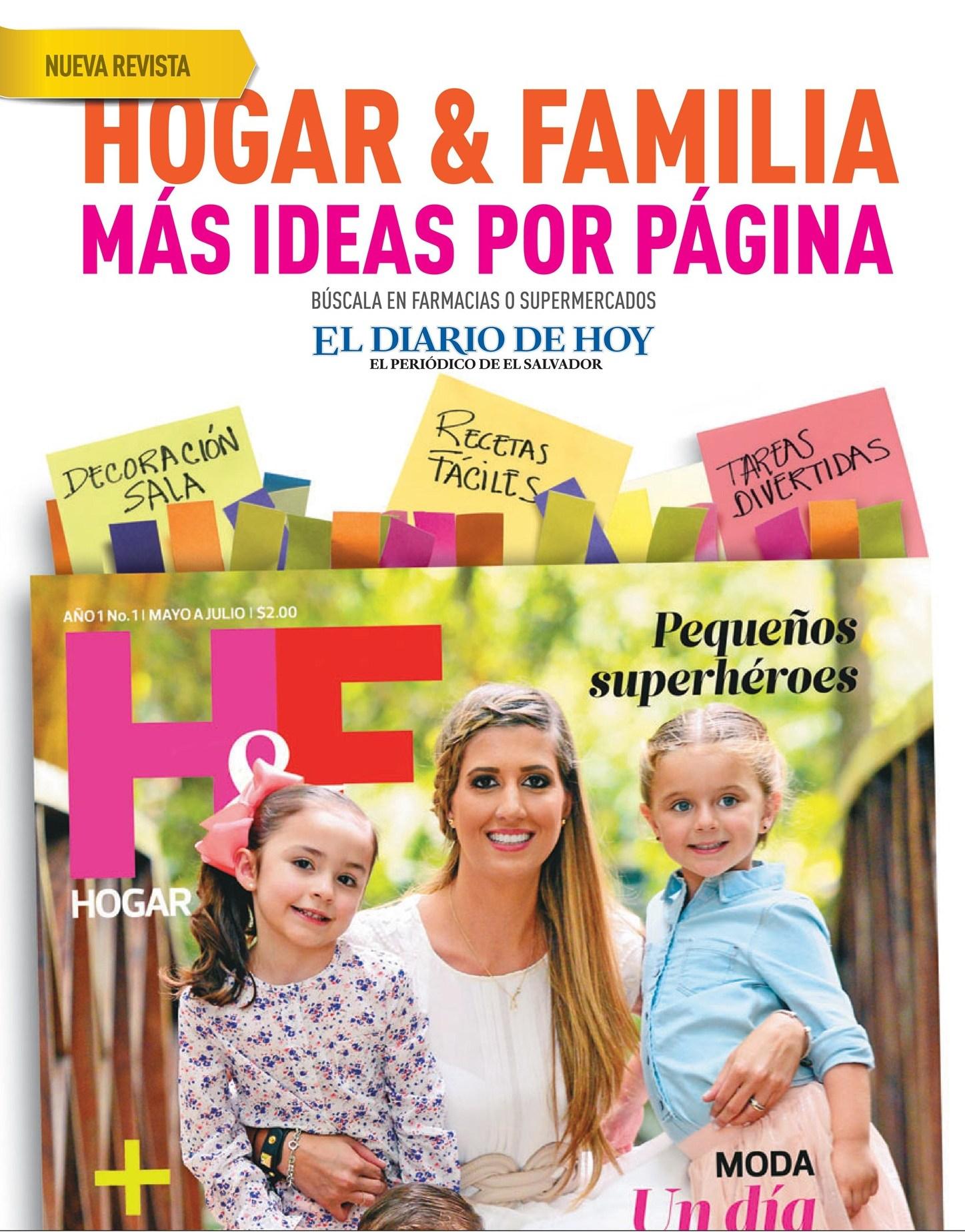 Nueva revista hogar familia magazine more ideas for Revista ideas para tu hogar