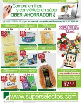 online DISCOUNTS superselectos.com gift drink and more - 09may14