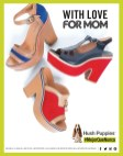 with love for MOM shoes HUSH PUPPIES
