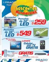 Celular con tv para ver BRASIL 2014 almacenes PRADO - 18jun14