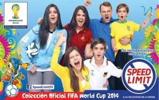 Coleccion oficial FIFA world cup 2014 Brasil SPEED LIMIT - 13jun14