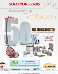 Descuentos de Tentacion 2 dias LA CURACAO - 17jun14