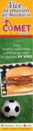 Disfruta de los partidos en VIVO restaurante COMET Diner