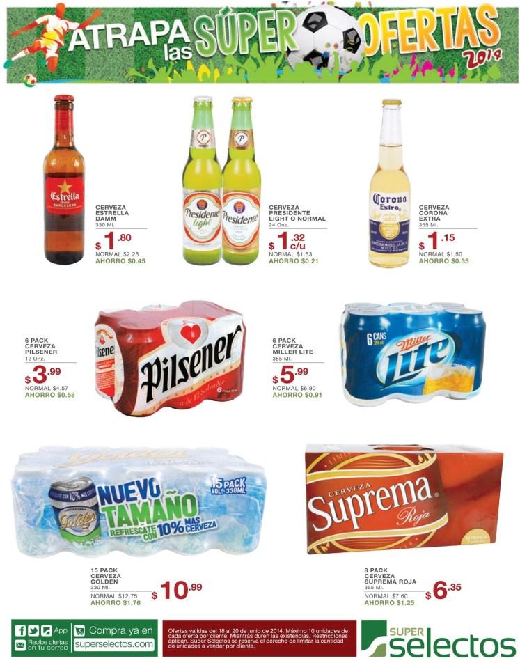 Disfrutar de los partidos con tu cerveza favorita - 18jun14