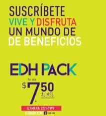 EDH Pack suscribite a un mundo de beneficios y prmociones - 18jun14