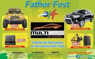 Father fest 2014 MULTI CARS accesories - 11jun14