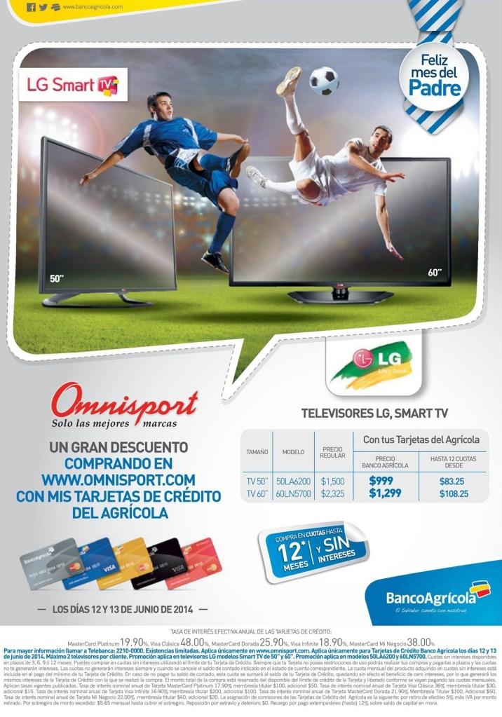 Feliz dia del padre TELEVISORES LG smart TV -12jun14