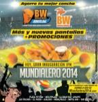HOY inauguracion MUNDIALERO 2014 nuevas pantallas y promociones -12jun14