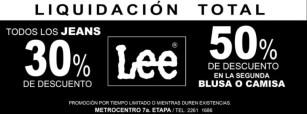 Liquidacion TOTAL JEANS lee - 18jun14