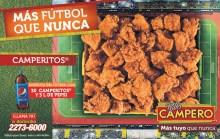 Mas futbol Mas Camperitos COMBOS pollo campero