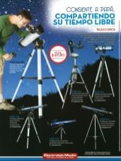 Ofertas TELESCOPIOS descubre el universo ELECTRO LAB MEDIC