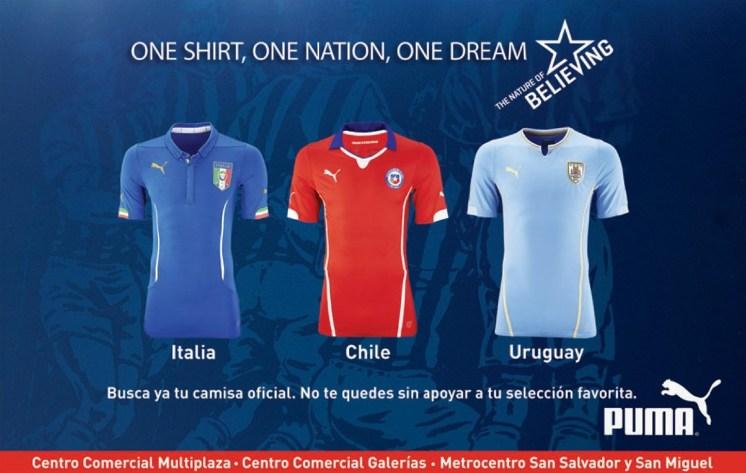One Shirt One Nation One Dream PUMA
