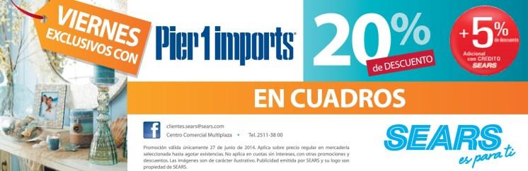 PIER1IMPORTS discounts SEARS el salvador - 27jun14