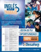 Programa nacional de INGLES para el trabajo INSAFORP