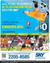 SKY eurocopa 2016 en exclusiva