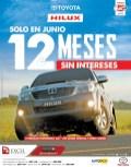 SOLO en Junio Toyota HILUX promocion sin intereses - 02jun14