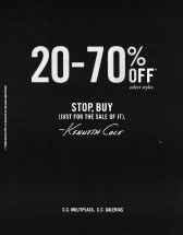 STOP to BUY kenneth cole discounts - 27jun14