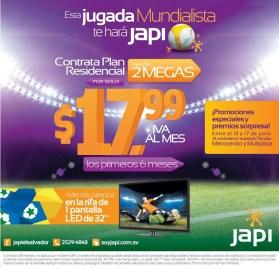 Tu mejor jugada mundialista JAPI internet - 13jun14