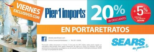 Viernes exclusivos con pier 1 imports SEARS - 13jun14