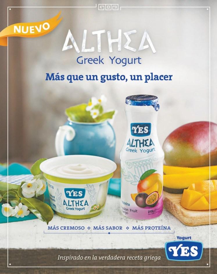 Yogurt YES new ALTHEA greek yogurt