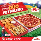 nuevo DUO FUTBOLERO promocion pizza hut