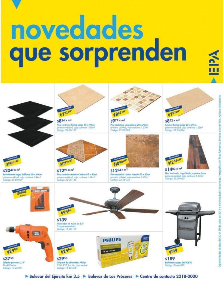 ofertas en Ceramicas pisos lozas NOVEDADES EPA el salvador - 21jun14