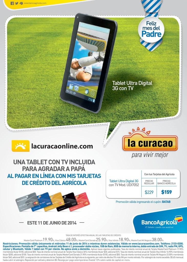 regala a PAPA una Tablet ultra digital 3G con TV precio especial