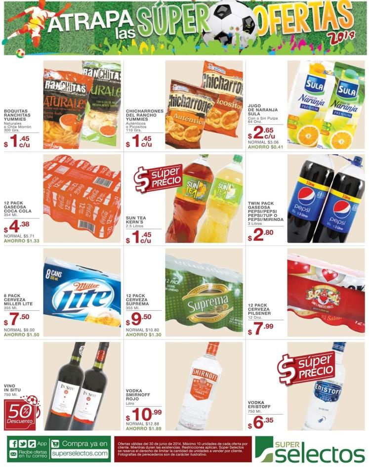 super ofertas MUNDIAL BRASIL 2014 selectos - 30jun14