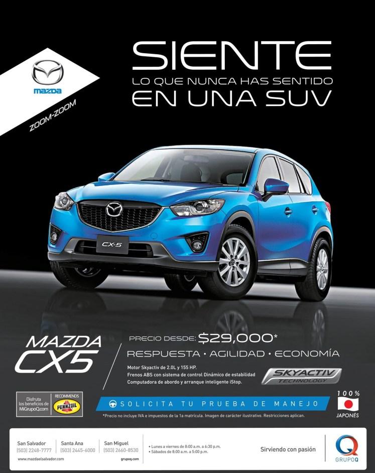 COMPRAR autos MAZDA CX5 2014