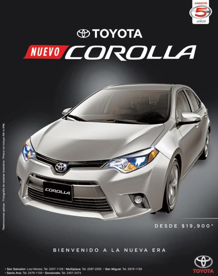 SAVINGS car toyota corolla 2015