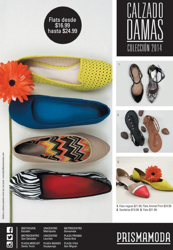 chicas calzado FLATS variedad de colores y estilos PRISMA MODA - 04jul14