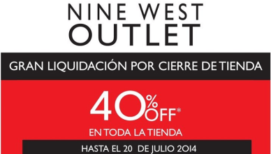 liquidacion NINE WEST 11jul14