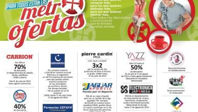 visitas las tiendas en metrocentro OFERTAS - 29jul14