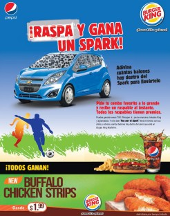 you can win CHEVROLET SPARK automovle - 07jul14