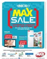 MAX SALE temporada de liquidacion en toda la tienda - 29ago14