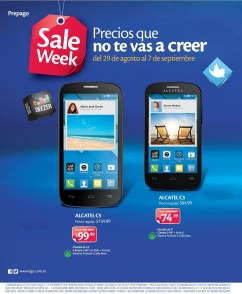 TIGO friday WEEK alcaltel samrtphones - 29ago14