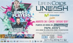 electronic party PAPA JOHNS edh EXA and ISTMO MUSIC - 23ago14