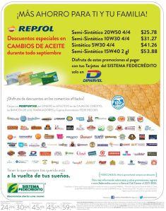 Ahorra en el cambio de aceite de tu auto REpsol - 22sep-14