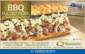 BBQ sandwich promotion QUIZNOS - 20sep14