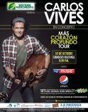 CARLOS VIVES en concierto el salvador 2014
