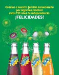 Celebra la independencia con gaseosas TROPICAL - 15sep14
