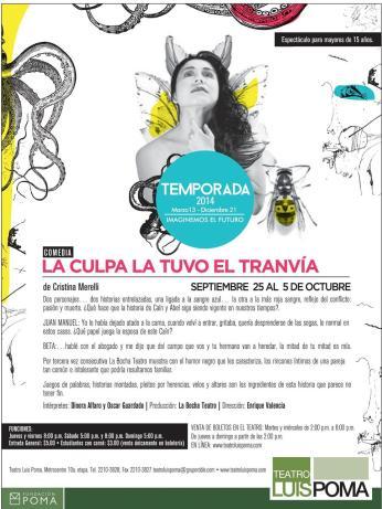 Funciones de teatro luis poma - 24sep14