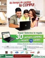 GANA una laptop compaq con modem TIGO - 15sep14