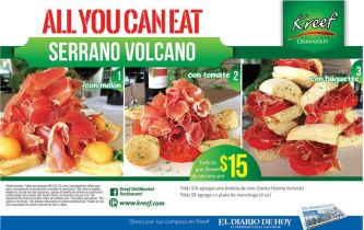 JAMON Serrano imported quality ALL YOU CAN EAT - 30sep14