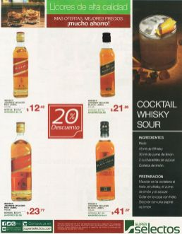 Licores de alta calidad WHISKY Jhonnie Walker red label - 19sep14