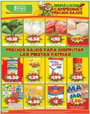 Precios bajos para disrutar las fiestas patrias - 13sep14