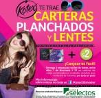 Promocion KOTEX te regala planchados y lentes