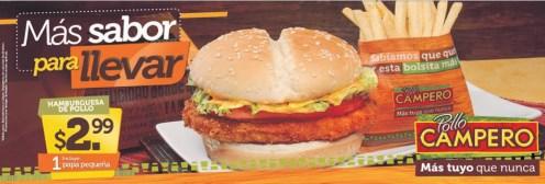 Quieres almorzar un combo de pollo campero - 17sep14