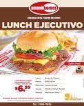 SMASH burger fresh delicious LUNCH ejecutivo - 22sep-14