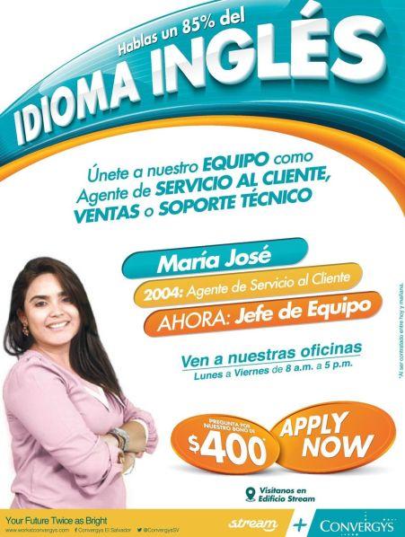 Trabajar en un call center EL SALVADOR
